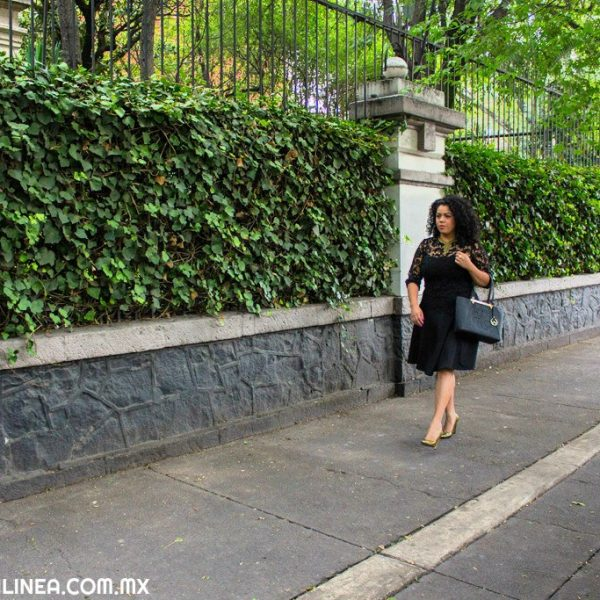 Un look casi total black