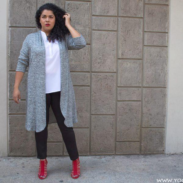 #CurvyTips: 3 formas de usar un cárdigan largo
