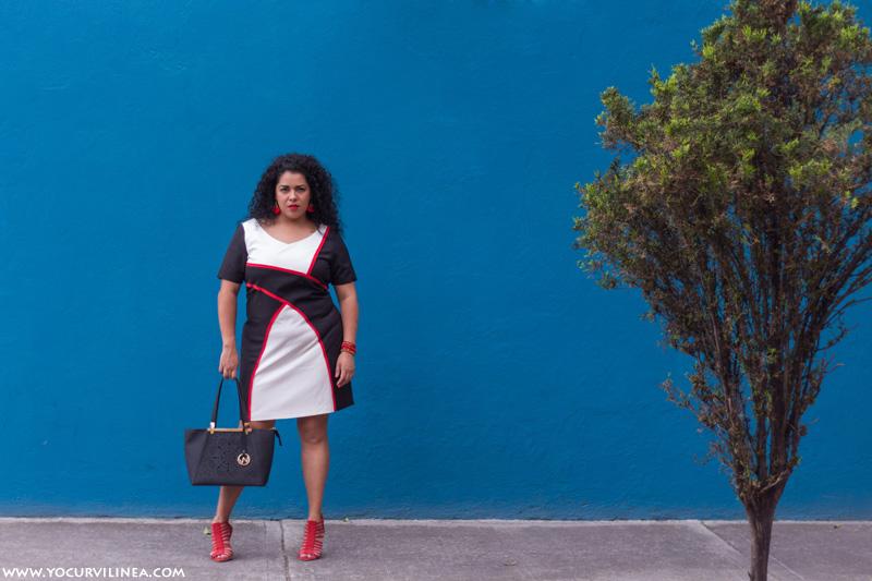 El vestido curvy formal ideal para un día de trabajo