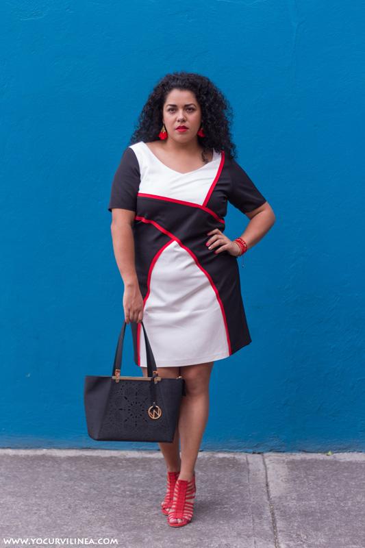 16cd54fe88 El vestido curvy formal ideal para un día de trabajo - Yo curvilínea