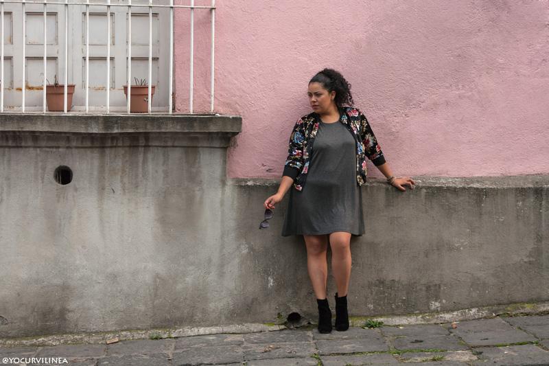 Trends: Enamorada de mi nueva bomber jacket de terciopelo y flores