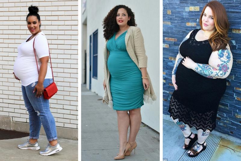 10 tips de estilo para mujeres curvy embarazadas