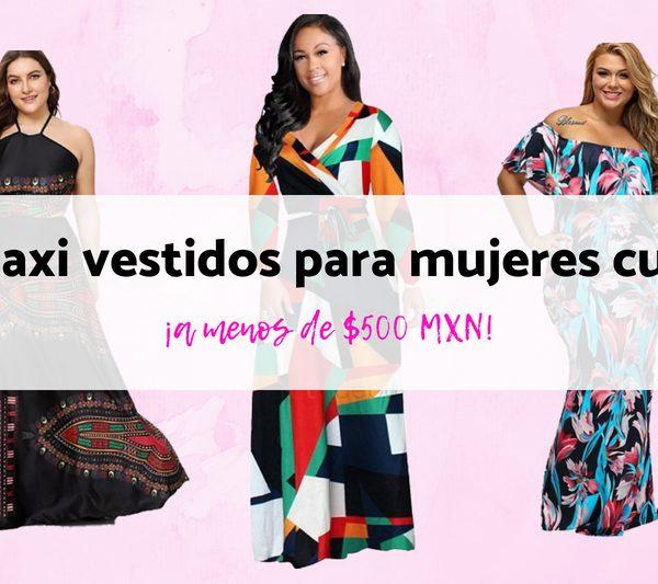 8 maxi vestidos para mujeres curvy ¡a menos de $500 pesos!