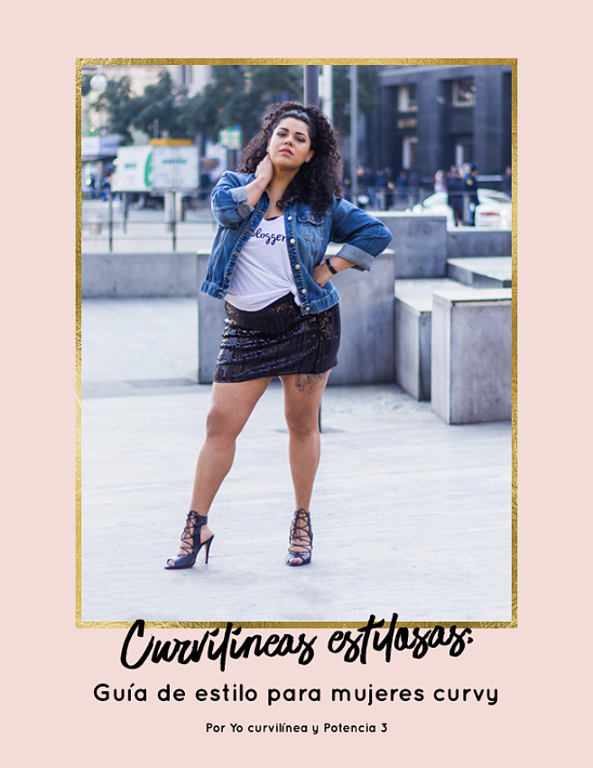 E-book Curvilíneas estilosas: Guía de estilo para mujeres curvy