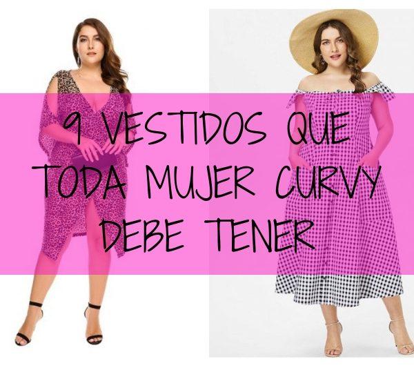 Shopping: 9 vestidos que toda mujer curvy debe tener