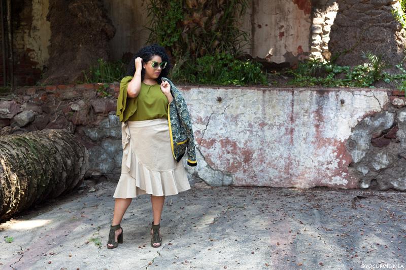 Inspiración: La falda de olanes que necesitas este otoño