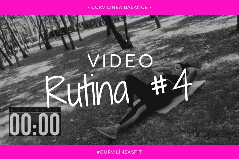 Curvilíneas Fit - Rutina 4 - Principiantes