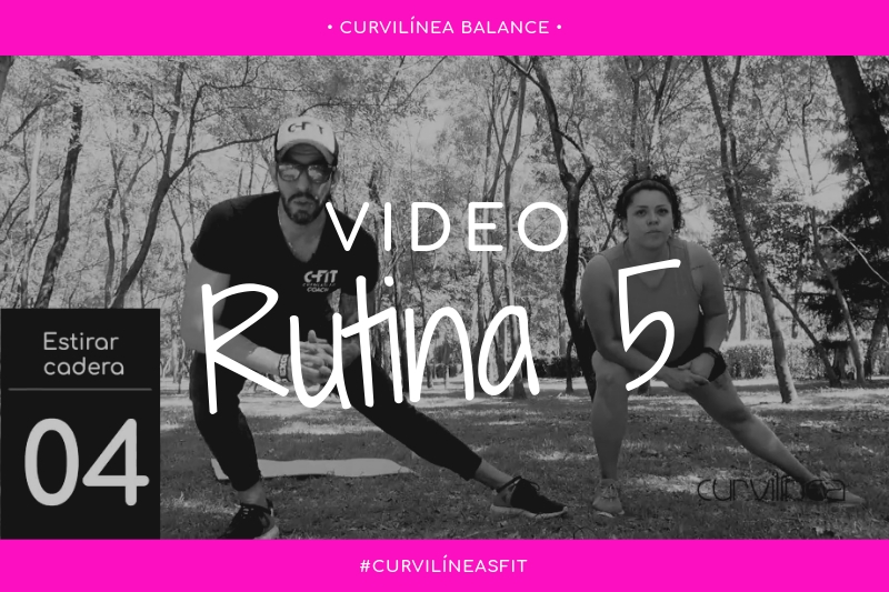 Curvilíneas Fit - Rutina 5 - Pierna y glúteo - Principiantes