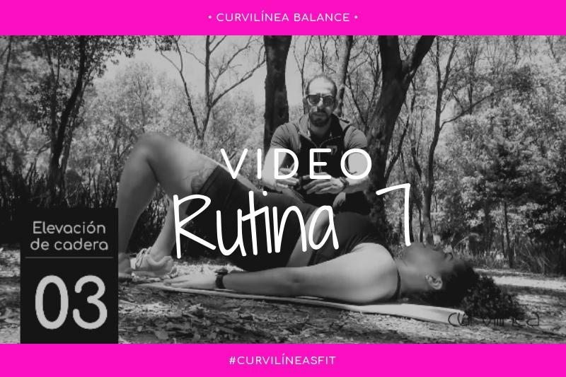 Curvilíneas Fit – Rutina 7 – Abdomen – Principiantes