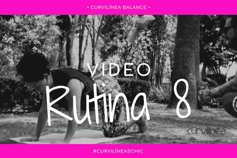 Curvilíneas Fit – Rutina 8 – Combinado – Principiantes