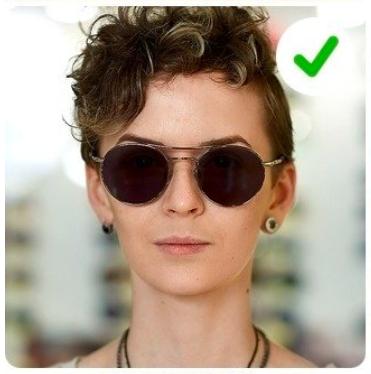 ¿Cuáles son los mejores lentes según mi tipo de cara?