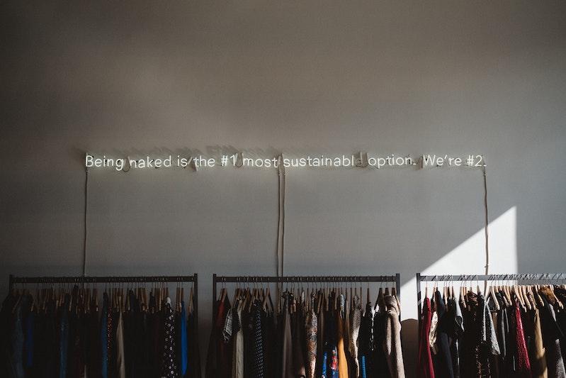 moda sustentable, reciclada y ropa de segunda mano